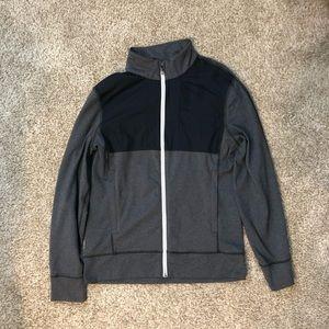 Men's, grey, zip up jacket from Lulu Lemon !